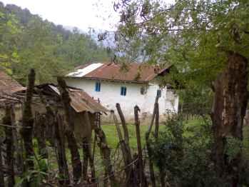 خانه ای روستایی -لاسک
